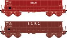 LS Models 31119 SNCF Sidelor SCRC Erzwagen 2-tlg Ep.4