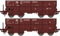 LS Models 32081 SNCB Esperance Longdoz Erzwagen 2tl Ep3