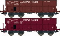 LS Models 32086 SNCB Hainaut Sambre Erzwagen 2-tlg Ep.4