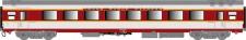 LS Models 40090 SNCF TEE Personenwagen 1.Kl. Ep.4b