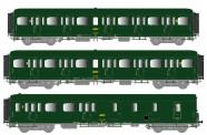 LS Models 40330 SNCF Personenwagen-Set 3-tlg Ep.4