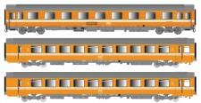 LS Models 40365 SNCF Personenwagen-Set 3-tlg Ep.4