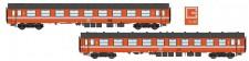 LS Models 42165 SNCB Personenwagen-Set 2-tllg Ep.4/5
