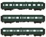 LS Models 42174 SNCB Personenwagen-Set 3-tlg. Ep.3bc