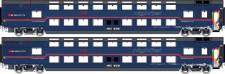 LS Models 47069 ÖBB Nighjet Doppelstock-Schlafw-Set Ep.6