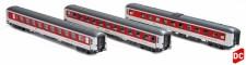 LS Models 49054 CNL DBAG Nachtzugwagen-Set 3-tlg Ep.6