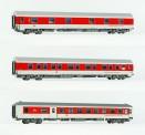 LS Models 49055 CNL DBAG Nachtzugwagen-Set 3-tlg Ep.6