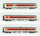 LS Models 49057 CNL DBAG Nachtzugwagen-Set 3-tlg Ep.6