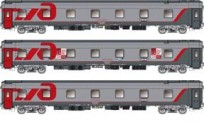 LS Models 58024 RZD Schlafwagen-Set 3-tlg Ep.5/6
