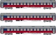LS Models 58026 RZD Schlafwagen-Set 3-tlg Ep.5