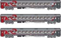 LS Models 58028 RZD Schlafwagen-Set 3-tlg Ep.5/6