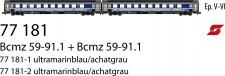 LS Models 77181 ÖBB Liegewagen-Set 2-tlg Ep.5/6