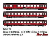 LS Models 77701 ÖBB EC Personenwagen-Set 3-tlg Ep.5a