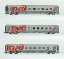 LS Models 78037 RZD Schlafwagen-Set 3-tlg Ep.6