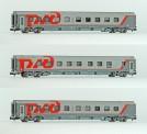 LS Models 78040 RZD Schlafwagen-Set 3-tlg Ep.6