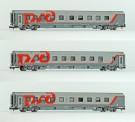 LS Models 78041 RZD Schlafwagen-Set 3-tlg Ep.6
