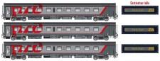 LS Models 78042 RZD Schlafwagen-Set 3-tlg Ep.6