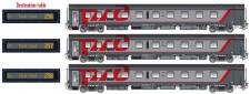 LS Models 78043 RZD Schlafwagen-Set 3-tlg Ep.6