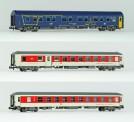 LS Models 79051 DBAG CD Nachtzugwagen-Set 3-tlg Ep.6