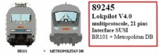 LS Models 89245 Lokpilot V4.0 21pin, SUSI interface