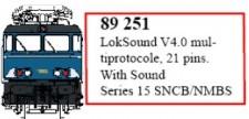 LS Models 89251 LokSound V4.0 21pin für Serie 15