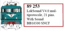 LS Models 89253 LokSound V4.0 für Serie BB16500