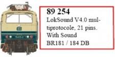 LS Models 89254 LokSound V4.0 für BR 181/184