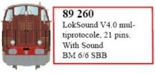 LS Models 89260 LokSound V4.0 für BM 6/6
