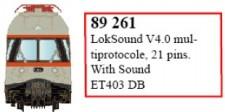 LS Models 89261 LokSound V4.0 für ET403