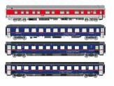 LS Models 97035 ÖBB Nightjet Nachtzugwagen 4-tlg Ep.6