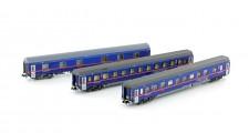 LS Models 97036N ÖBB Nightjet Nachtzugwagen 3-tlg Ep.6