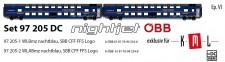 LS Models 97205DC ÖBB Nightjet Doppelst.-Schlafw-Set Ep.6