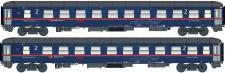 LS Models 97206DC ÖBB Nightjet Liegwagen-Set 2-tlg Ep.6