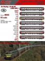 LS Models MW1605 SNCB Personenwagen-Set 7-tlg Ep.5