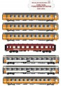 LS Models MW1701 SNCF Reisezugwg.-Set  EC 487 7-tlg Ep.4