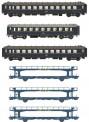 LS Models MW1805 CIWL Personenwagen-Set 8-tlg. Ep.3/4