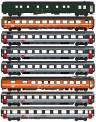 LS Models MW1806 SBB Personenwagen-Set 8-tlg. Ep.4/5