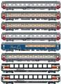 LS Models MW2102 SNCB SBB Personenwagen Set 8-tlg Ep.6