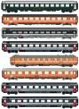 LS Models MW2103 SBB SNCB Personenwagen-Set Ep.4/5