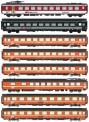 LS Models MW2104 SBB Reisezugwagen-Set IC 163 8-tlg Ep.4