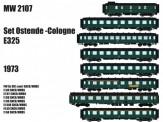 LS Models MW2107 SNCB Reisezugwagen-Set E325 8-tlg Ep.4
