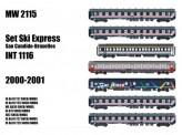 LS Models MW2115 SNCB Reisezugwagen-Set Ski Express Ep.5