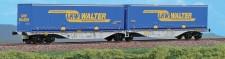ACME 40273 CEMAT Containerwagen 6-acsh Ep.5/6