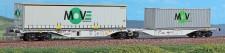 ACME 40295 Hupac Containertragwagen 6-achs Ep.5/6