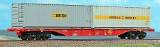 ACME 40414 RCA Intermodal-Wagen Sgnss 60 Ep.5/6