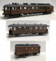 Hobby Trade HT150501-S DSB Triebwagen-Set 3-tlg. Ep.2