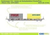 Kombimodell 20332.01 Hupac SBB Taschenwagen 4-achs Ep.6