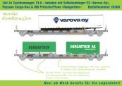 Kombimodell 20368.01 Hupac SBB Taschenwagen-Set Ep.5/6