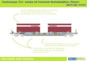 Kombimodell 20372.01 Hupac SBB Taschenwagen Ep.5