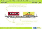 Kombimodell 20374.01 Hupac SBB Taschenwagen Ep.5